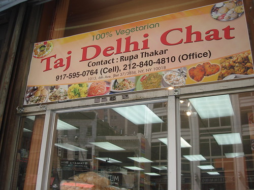 Newly Opened Taj Delhi Chat
