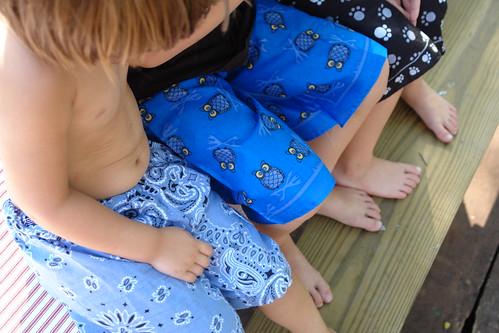 Bandana Pants