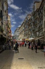 Walking on Lisbon (franz75) Tags: street portugal d50 nikon lisboa lisbon via hdr lisbona portogallo