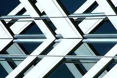 Blue and White (swisscan) Tags: fab toronto canada reflection building window glass office soe allianceatlantis abigfave superaplus aplusphoto favemegroup4 theunforgettablepictures colourartaward platinumheartaward world100f damniwishidtakenthat magicdonkeysbest