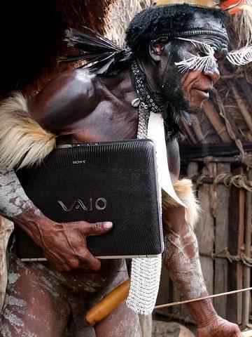 tribu Dani Sony Vaio