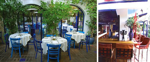 the little door los angeles patio dining