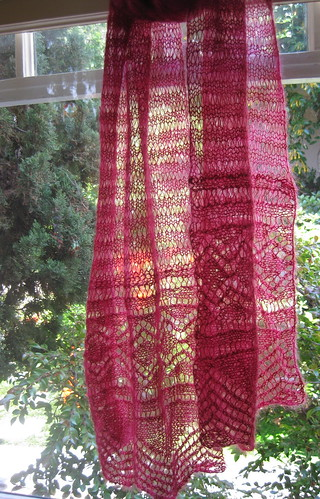 Victorian Ruby scarf