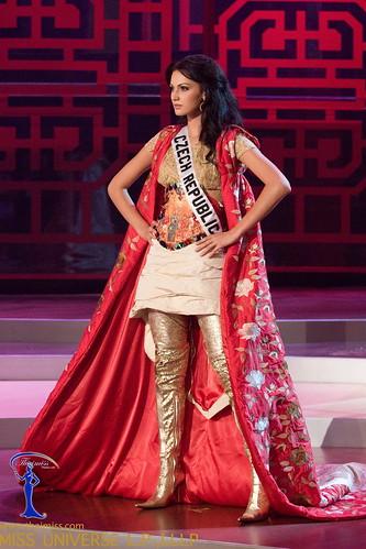 Traje de fantasía de Miss República Checa