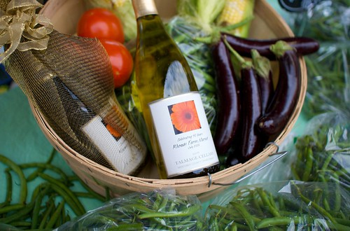 Farmers Market Basket