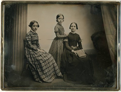 Unidentified Group of Three Young Women