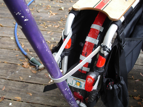 D I Y  Xtracycle Flagpole - BikeCommuters com