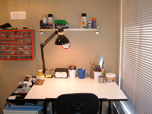 Clean drafting table