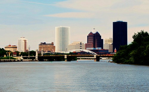 Rochester City Skyline