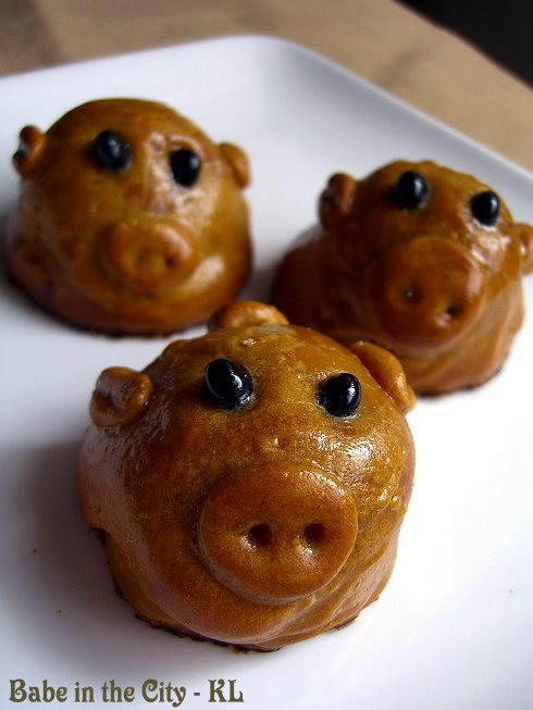 Freestyle Piggy Festive Biscuits - Dau Yoong filling