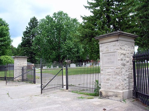 Gates of Woodward Hill Cemetery