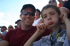 Nate and I at NASCAR