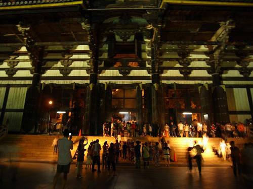 東大寺「大仏殿」夜間拝観-03