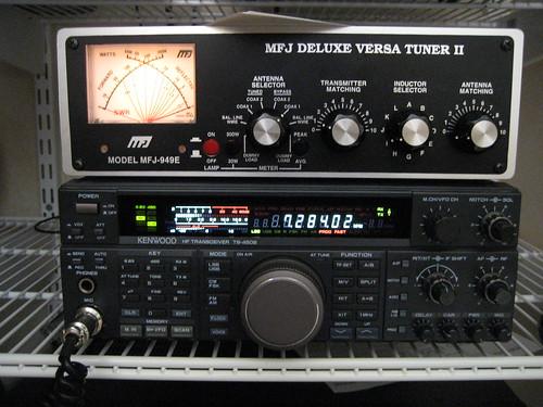 TS-450S and MFJ 949E