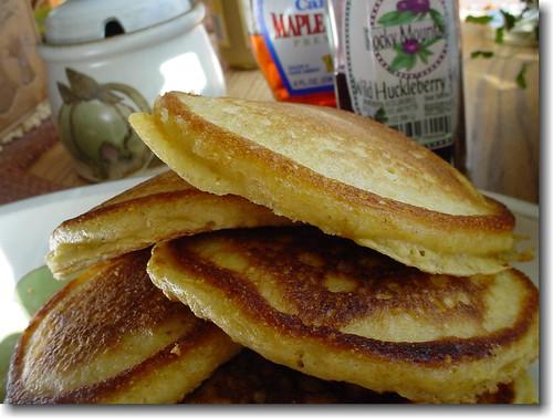 Pannekaker og lønnesirup