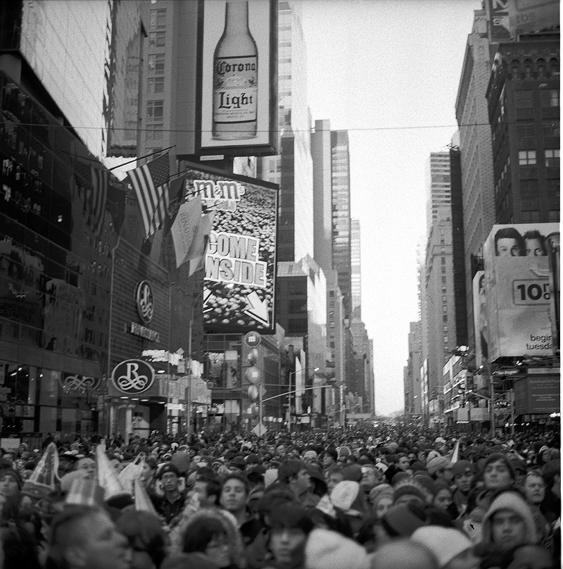 Time Square New Years Eve 2008