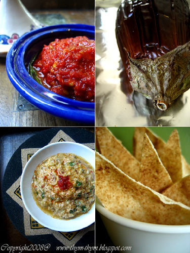 Spicy Eggplant and Yogurt dip