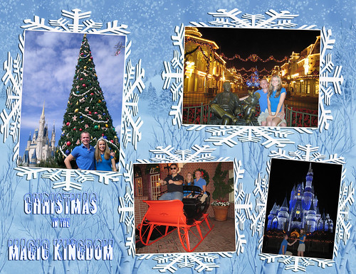 Magic Kingdom Christmas 1