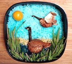 Canadian Goose Bento