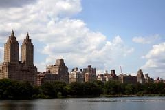 Upper West Side (chrissuderman) Tags: city nyc newyorkcity usa newyork skyline pond cityscape centralpark manhattan upperwestside