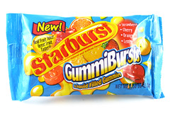 Starbursts Gummi Bursts Package