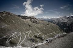 The Most Beautiful Roads in Europe (revod) Tags: italy alps alpen italianalps topgear passodellostelvio stilfserjoch stelviopass nearswitzerland easternalps oneofthehighestpavedroadsinthealps threelanguagespeak likespaghetti