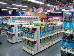 Gashapon floor - Yodobashi Camera