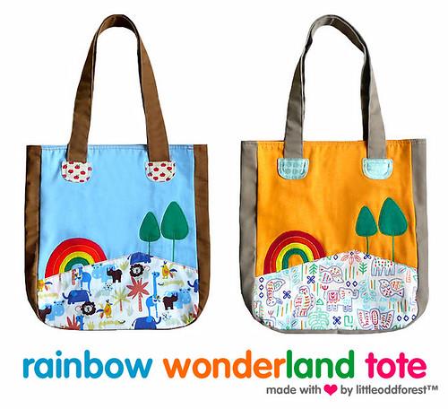 Rainbow Wonderland Tote
