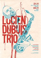 LDT Poster (subgrafik) Tags: poster design graphic swiss gig jazz trio whateva lucien gigant subgrafik dubuis runeone