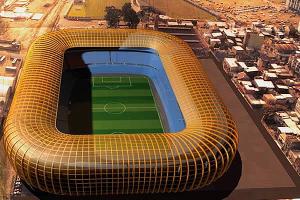 Futuros estadios - Argentina