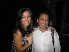 Valerie Combs and Brian Solis