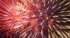 red and blue and gold (EpicFireworks) Tags: party cake guyfawkes pyro bang 13g pyrotechnics epicfireworks