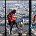 soccer over the roofs