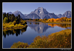 Sensory Saturation (James Neeley) Tags: autumn landscape nikon fallcolor searchthebest mountmoran tetons grandtetonnationalpark d300 gtnp oxbowbend mywinners jamesneeley