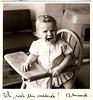 Berthy's Fotoalbum (lambertwm) Tags: bw baby film vintage photo blackwhite toddler crying angry grainy 1year oneyear sixties 1964 viewcount peuter boos 1jaar huilend lwmfav