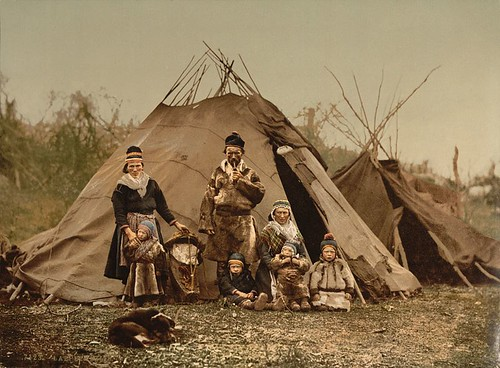 Los lapones, o Sami, o Saami.