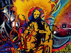 Jesus Christ Stencil (BLXM) Tags: street streetart graffiti stencil df jesus jesuschrist streetartmexico
