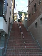 Escales Baixada de les Monges des de baix