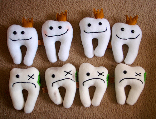 New! Tooth holder Plush