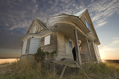 Crystal (austinspace) Tags: portrait woman abandoned rural washington angle farm wide wideangle explore davenport 1022mm