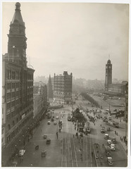 Railway Square, ca. 1945, from Walkabout : NSW photographs (Kings Cross, Sydney buildings), 1945-1967 / by unknown photographer