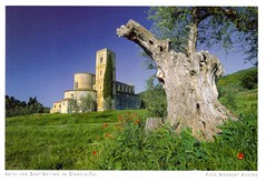 """""""Abtei von Sant'Antimo im Starcia-Tal"""""""