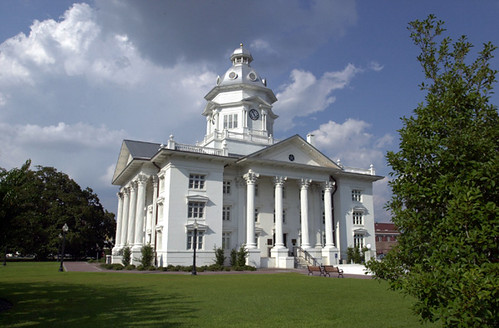 Colquitt County Courthouse in Moultrie
