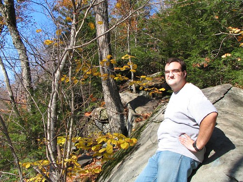 Ian Partway Up Mt. Wachusett