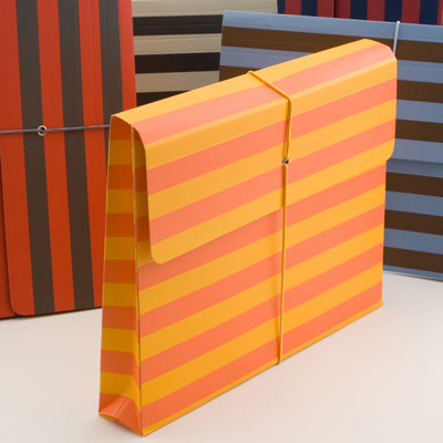 semikolon striped document file