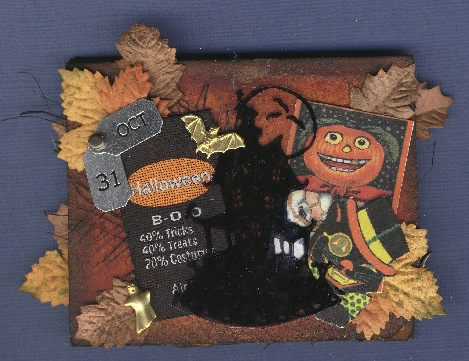Slide Mailer - Happy Haunting - cover