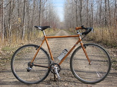 Mendota Trail (guidedbybicycle) Tags: bicycle handmade steel cyclocross ral 8023