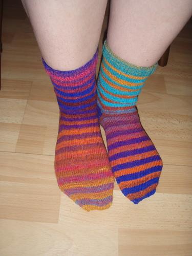 Noro Socks Front