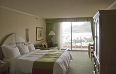 Room in the Kahili Wing of Kauai Marriott