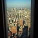 Manhattan view from a WTC window by Gojame